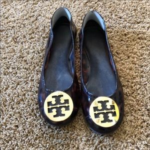 Tory-Burch pvc jelly flats excellent condition 9